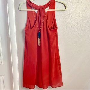 BCX halter dress
